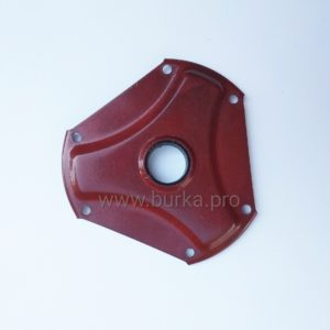 Крышка вариатора Сафари красная (метал)