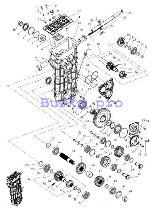 Коробка передач L30601100-01 (С40601800 Патруль)