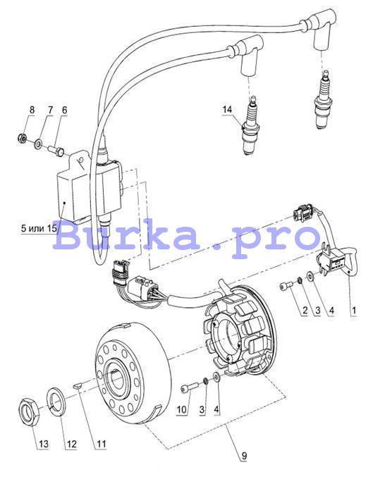 Электрооборудование - Система зажигания Ducati